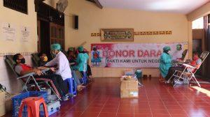 Peduli Kesehatan di Tengah Pandemi Covid 19, Polres Pemalang Selenggarakan Donor Darah