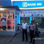 Patroli Polsek Sambang Perbankan, Antisipasi Kerawanan Hari Libur Akhir Pekan