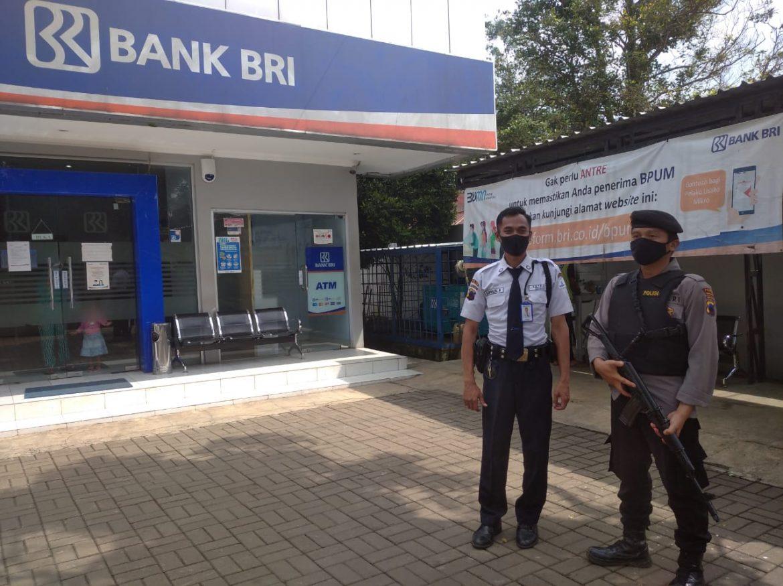 Polisi Patroli Perbankan Antisipasi Tindak Kejahatan