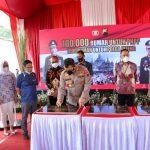 Kapolda Jateng Hadiri Pencanangan 10 Ribu Rumah Untuk Anggota Polri, 1000 Rumah Ada di Jateng