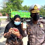Selama Penyekatan Polrestabes Semarang Periksa 2.161 Kendaraan 351 Diantaranya Diputar Balik