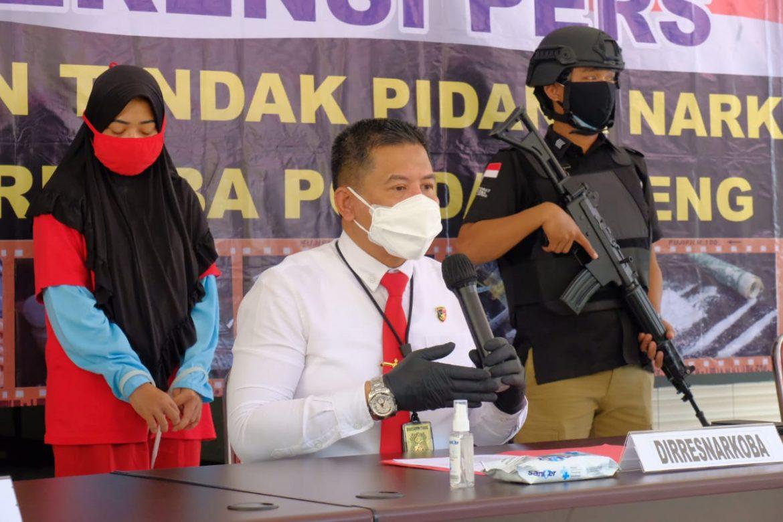 Ditresnarkoba Polda Jateng Ungkap Jaringan Narkotika Internasional Malaysia-Indonesia