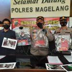 Polres Magelang Berhasil Bekuk Resedivis Pelaku Pencurian Di Dua Apotik Magelang