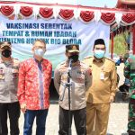 Sukseskan Program Vaksinasi Pemerintah, Kapolda Jateng Datang Ke Blora Pantau Vaksinasi Ditempat Ibadah