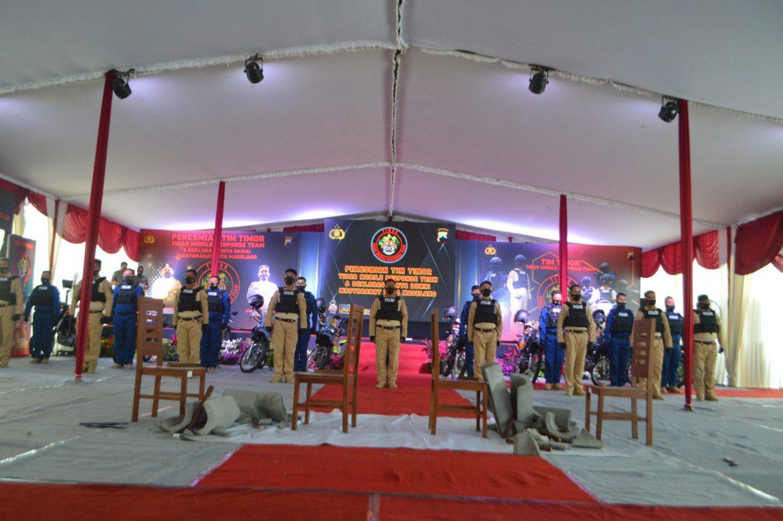 Jaga Kamtibmas, Kapolres Magelang Kota Launching TIM TIMOR