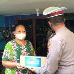 Hari Pertama Gelar Ops Patuh Candi, Satlantas Polrestabes Semarang Gelar Baksos Dan Vaksinasi