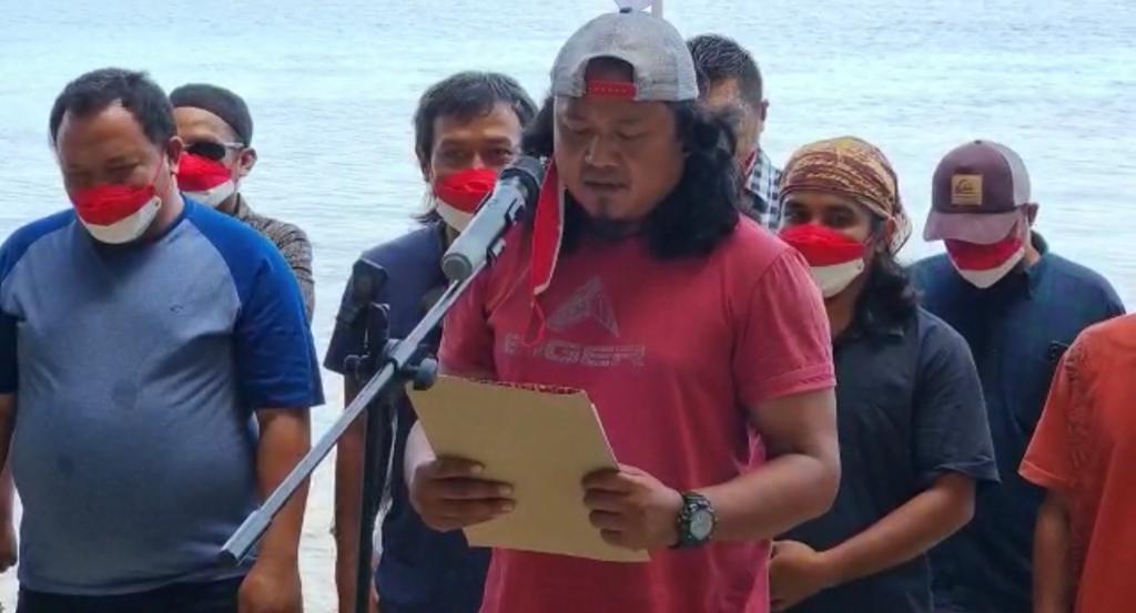 Mantan Napiter Poso ucapkan ikrar setia kepada NKRI